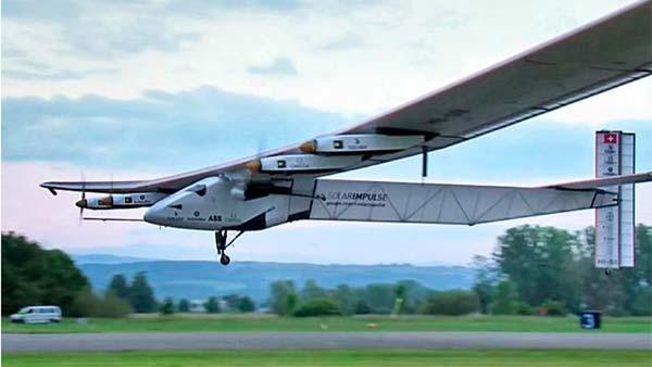 Round the World Solar Air Travel
