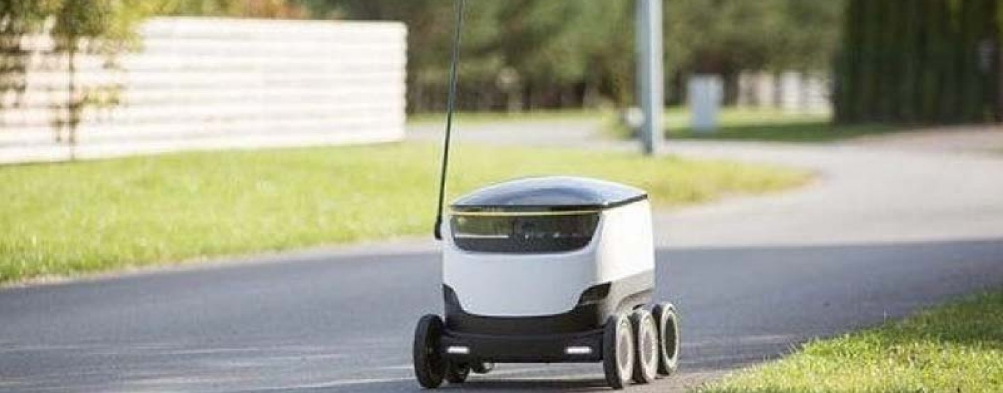 Self-Driving Robots to Take Over Delivery of Packages
