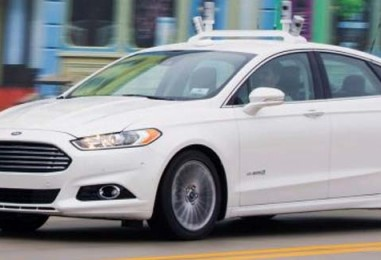 Ford's Driverless Car Without Steering Wheel or Pedals