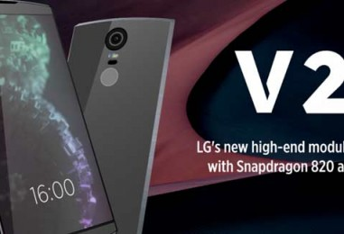 Leaks on the Latest Renders of LG V20- What to Expect