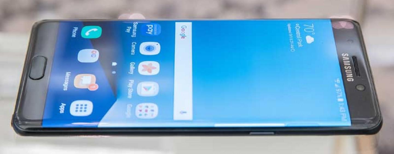 Samsung Galaxy Note 7 with Gorilla Glass 5 Build