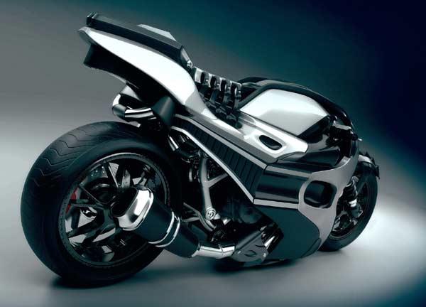 3D divergent super bike
