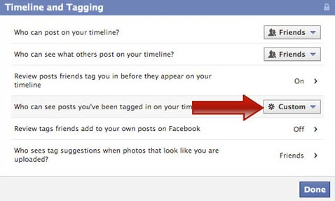 Blocking unwanted tags