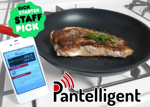 Pantelligent smart pan