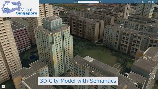 Virtual Singapore Map