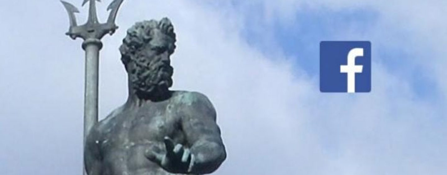 Facebook Retrieves Its Censorship on Neptune Statue
