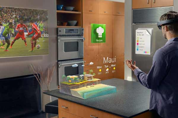 HoloLens Augmented