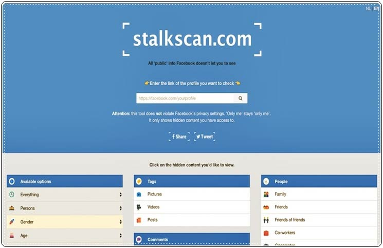 Stalkscan and Data Selfie are the Two Creepiest Facebook