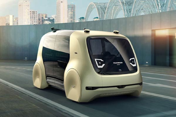 Self-Driving Concept Vehicle