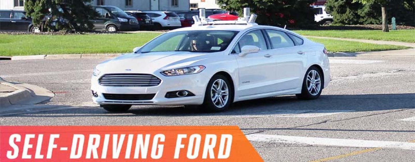 Ford Ranked as the Leading Manufacturer of Self-Driving Cars