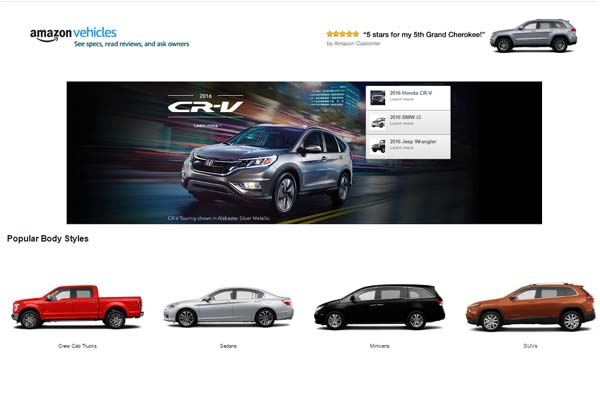 Features Of Amazon Vehicle