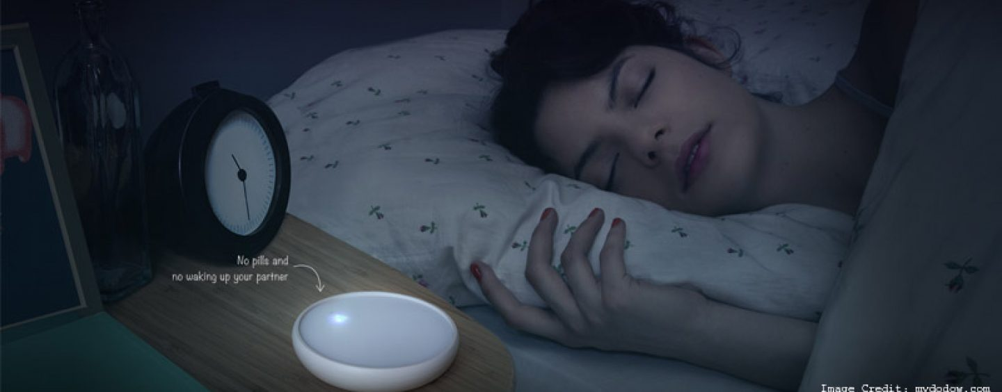Could the Dodow Metronome Light System Help You Sleep Better?