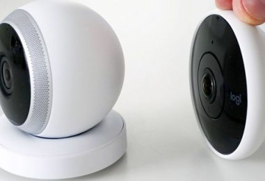 Slim And Modular Wi-Fi Home Security Camera By Logitech