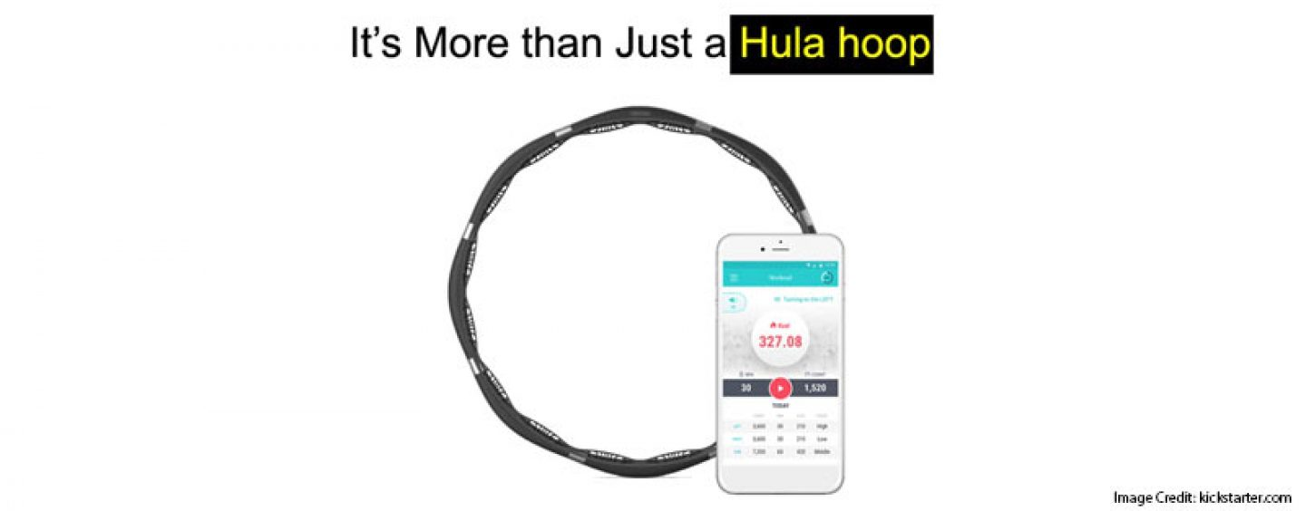 VHOOP Smart Device To Track Hula Hoop Fitness & Workout Activities