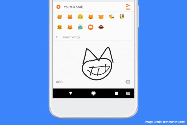 gboard smart keyboard application newest drawing feature