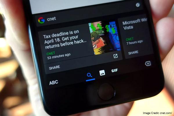 Gboard smart keyboard applications prior achievements