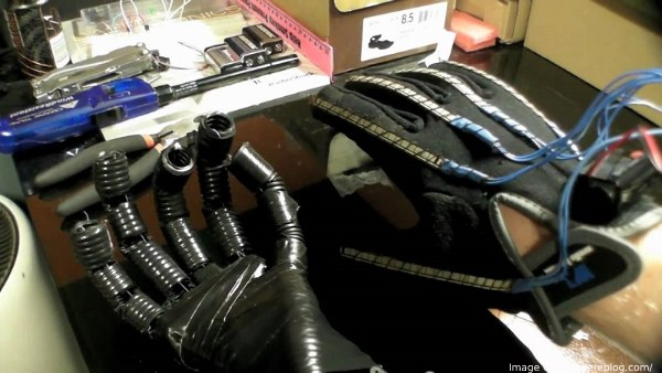 how to build a robotic hand
