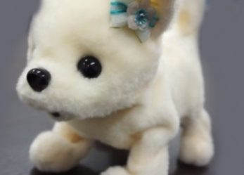Little Robot Dog Will Sniff & Help You To Remove The Stink From Feet