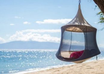 Treepod- A Spacious Hanging Treehouse Which Is Portable & Easy To Use