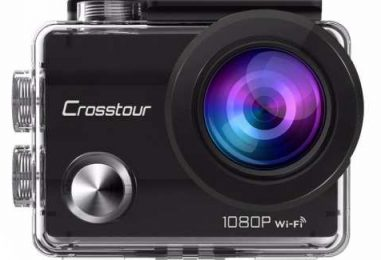 Get Clear Under Water Snaps With Waterproof Wifi Camera- Crosstour