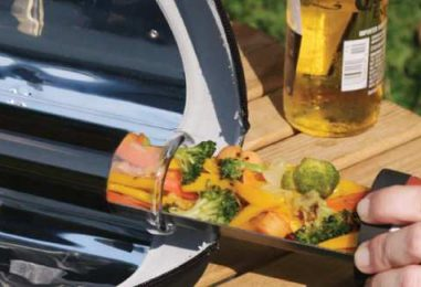 Cook Up A Meal With A Portable Solar-Powered Stove GoSun Go