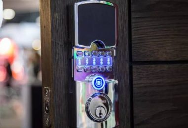 Not Batteries, This Smart Lock Is Powered By The Sun