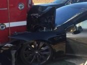 A Tesla On Autopilot That Crashed Into The Fire Truck – Find The Reasons