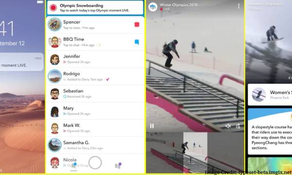 Watch Olympics Using Snapchat
